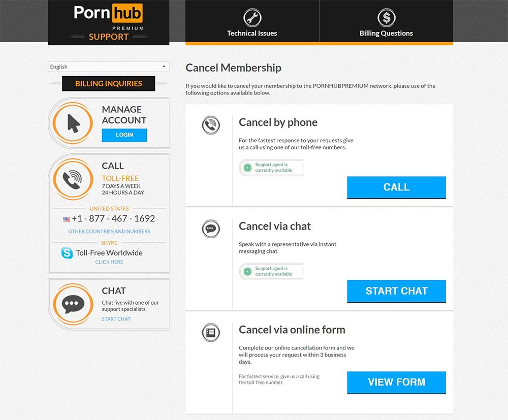 Account Free Porn cancel pornhub premium: cancel account in under 3 minutes